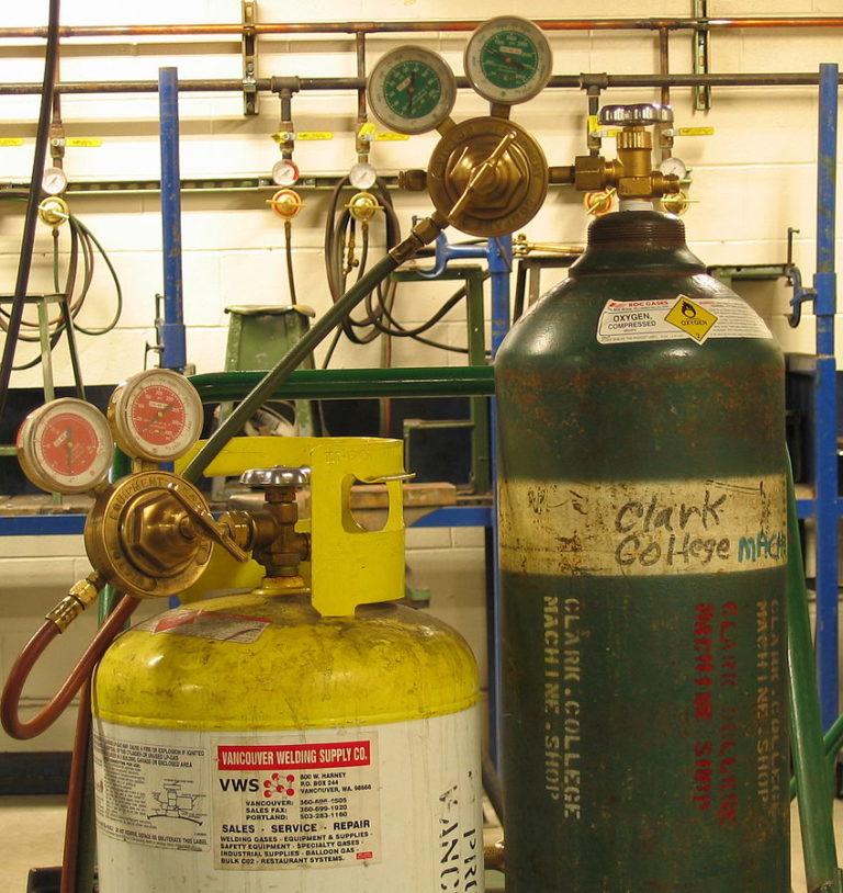 МАПП газ для сварки