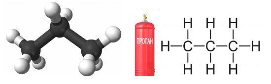 Пропан газ