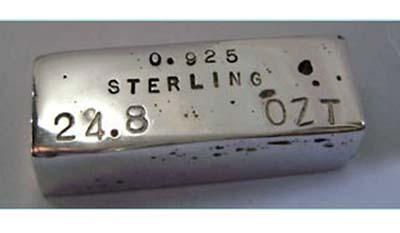 Разница между Стерлинговым серебром и Белым золотом