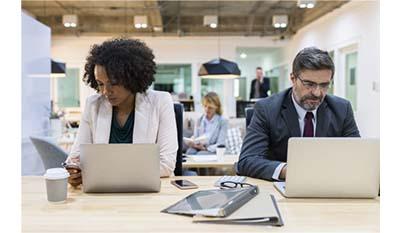 Разница между Вовлечением в работу и Организационными обязательствами