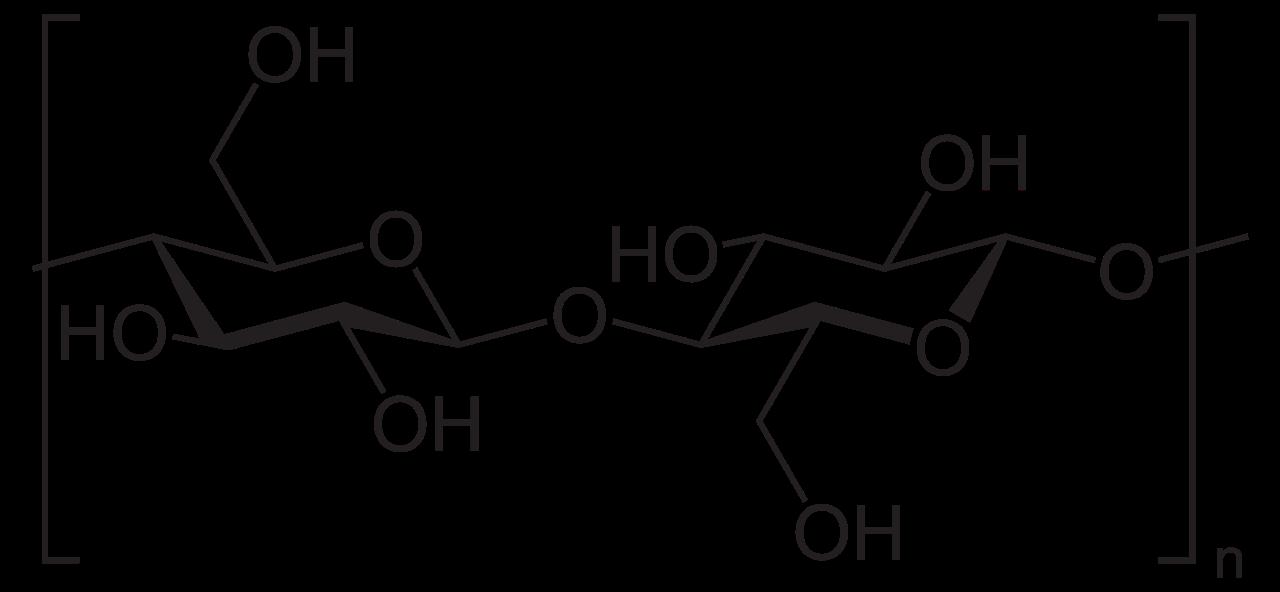 Химическая структура Целлюлозы