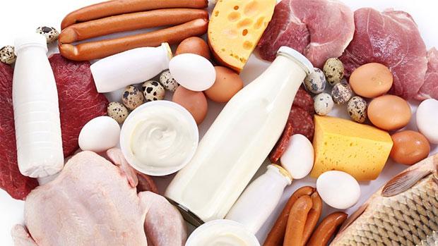Продукты с преобладающими Насыщенными жирами