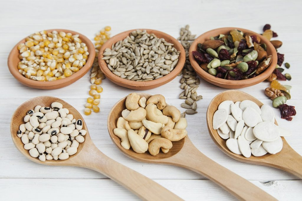 Продукты с Растительным белком