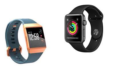 Разница между Fitbit и Apple Watch