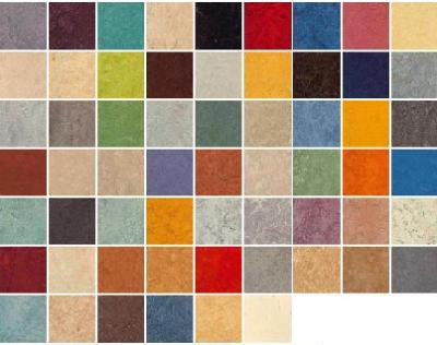 Варианты натурального цвета Мармолеумома