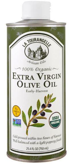 Органическое оливковое масло холодного отжима