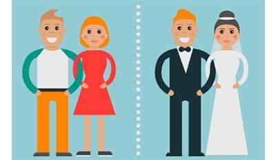 Разница между Сожительством и Браком