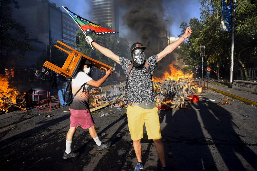 Бунт в Чили