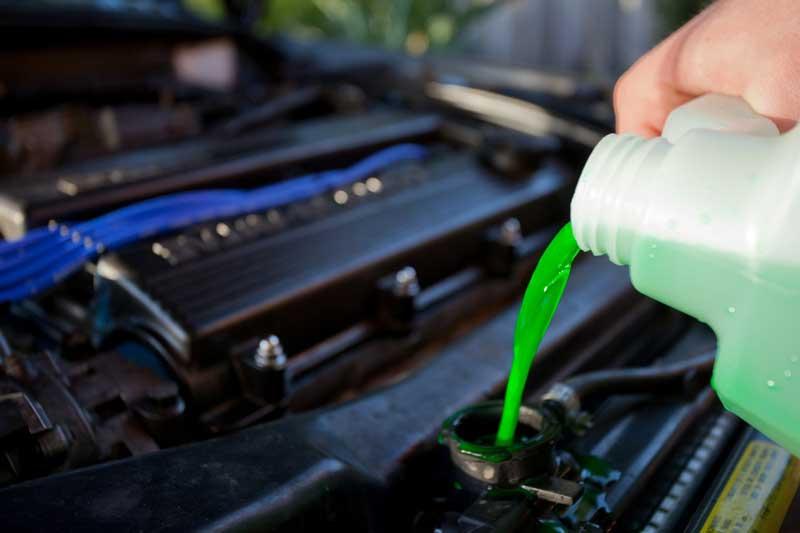 Зеленый антифриз