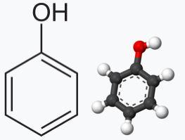 Химическая стректура Фенола
