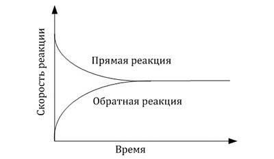 Разница между Физическим и Химическим равновесием