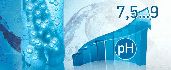 Щелочная вода - это вода с уровнем ph более 7.1