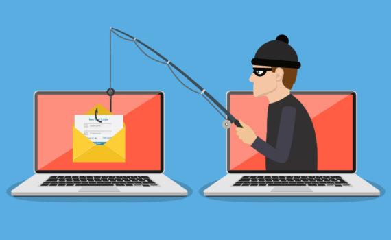 Фишинг используется для получения паролей, номеров банковских счетов и банковских карт