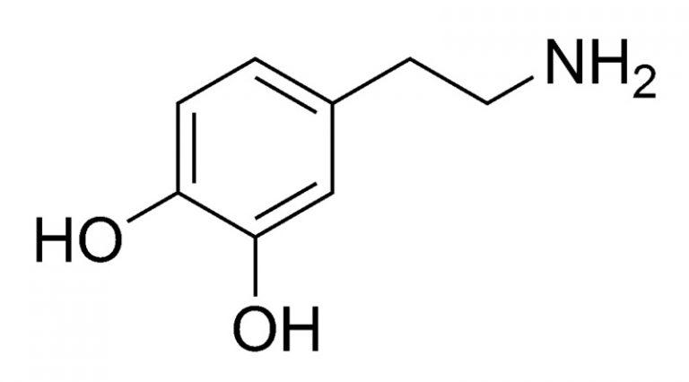 Химическая структура Дофамина