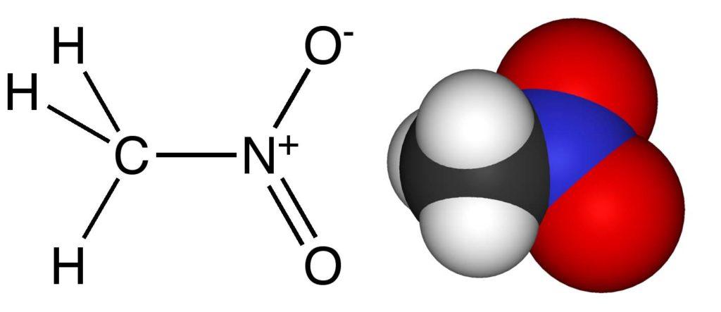 Химическая структура Нитрометана