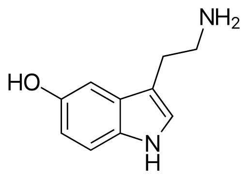Химическая структура Серотонина