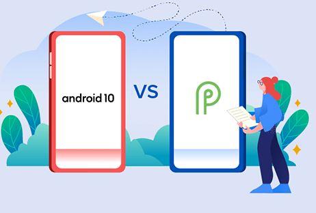 Разница между Android 9 и Android 10