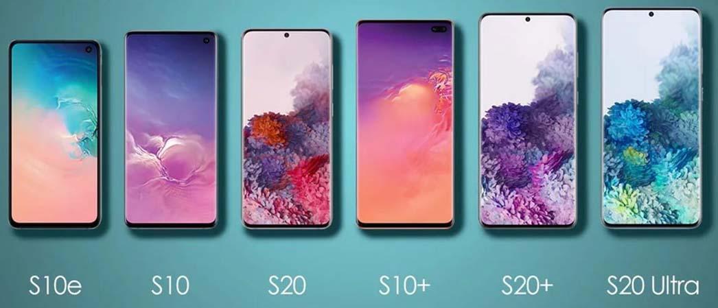 Отличие семейства Galaxy S10 и Galaxy S20