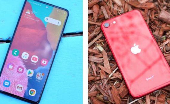 Разница между Galaxy A51 и iPhone SE