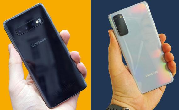Разница между Galaxy S10 и Galaxy S20