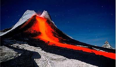 Разница между Вулканическими породами и Плутоническими породами