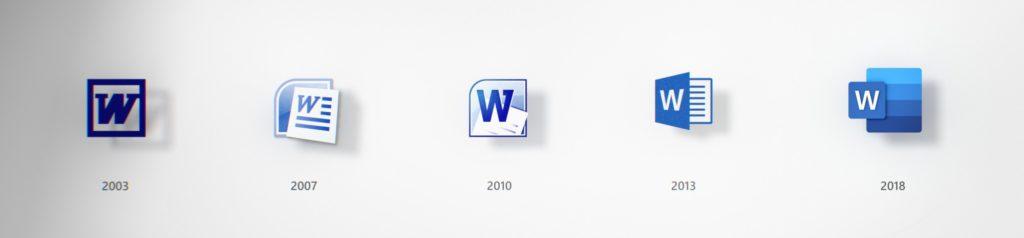 Иконки Microsoft Word