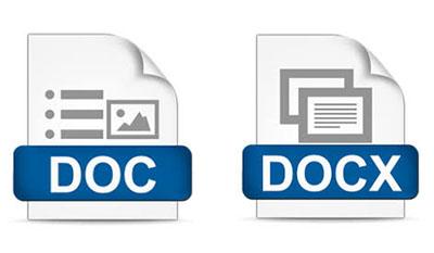 Разница между DOC и DOCX