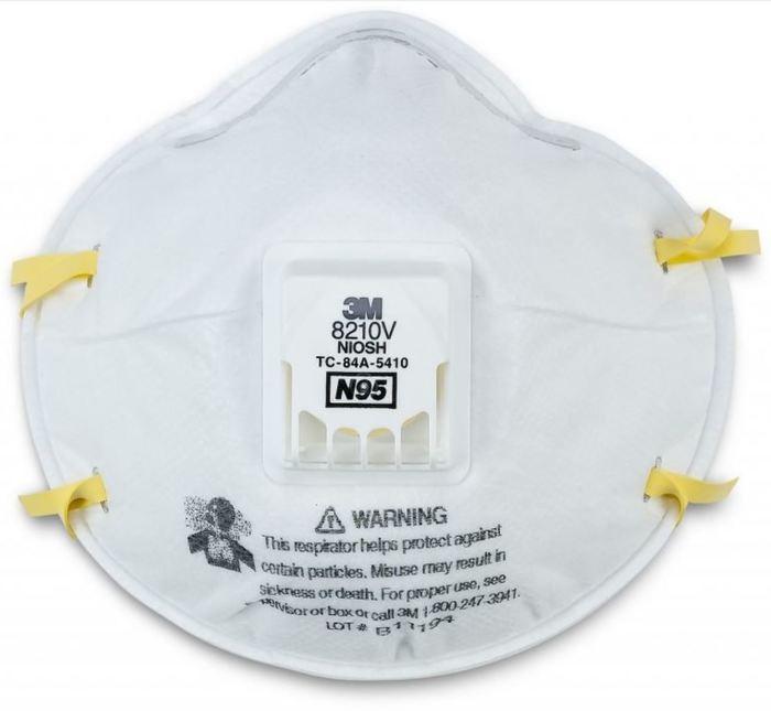 Респиратор 3M со степенью защиты N95