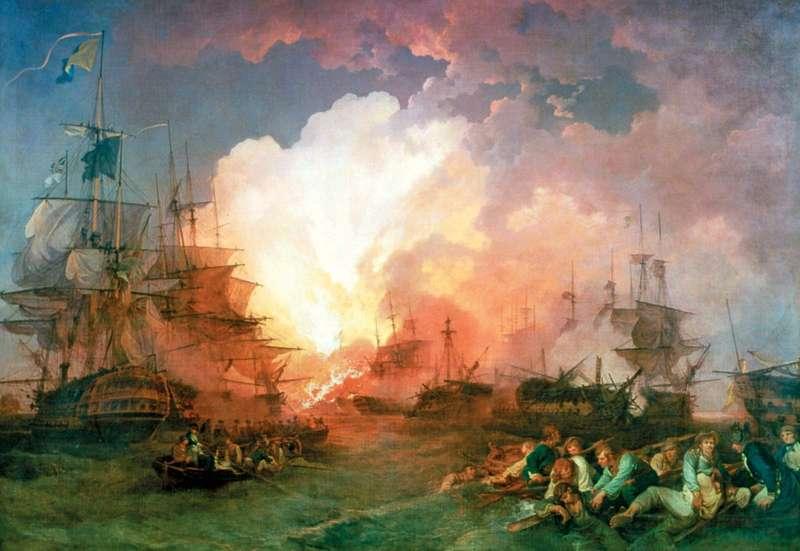 Битва за Нил произошла 1 августа 1798 года