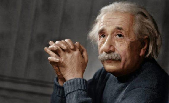 Физик Альберт Эйнштейн
