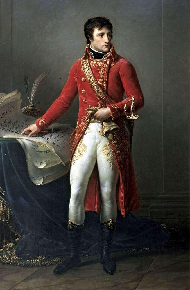Наполеон сверг правительство Франции в результате переворота в 1799 году. Он заменил его новым правительством и сделал себя лидером, известным как первый консул.