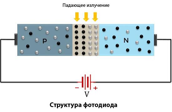 Структура фотодиода