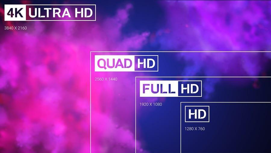 Разница между HD, Full HD, Quad HD и Ultra HD
