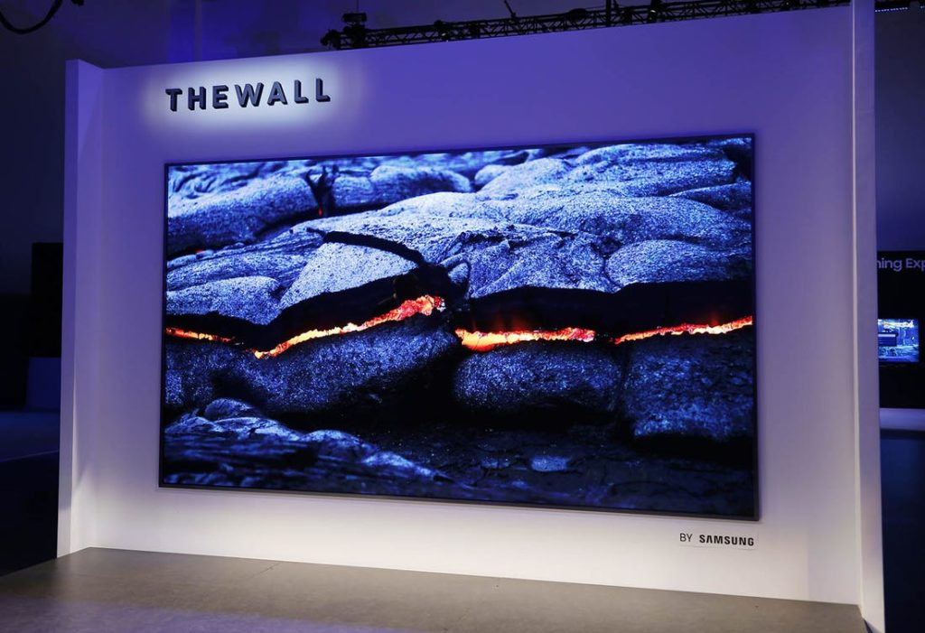 146-дюймовый модульный телевизор Samsung The Wall