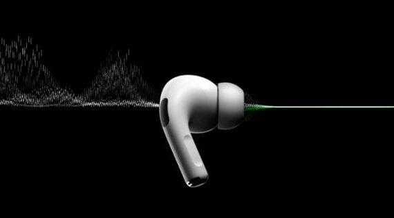 AirPods Pro имеют активное шумоподавление