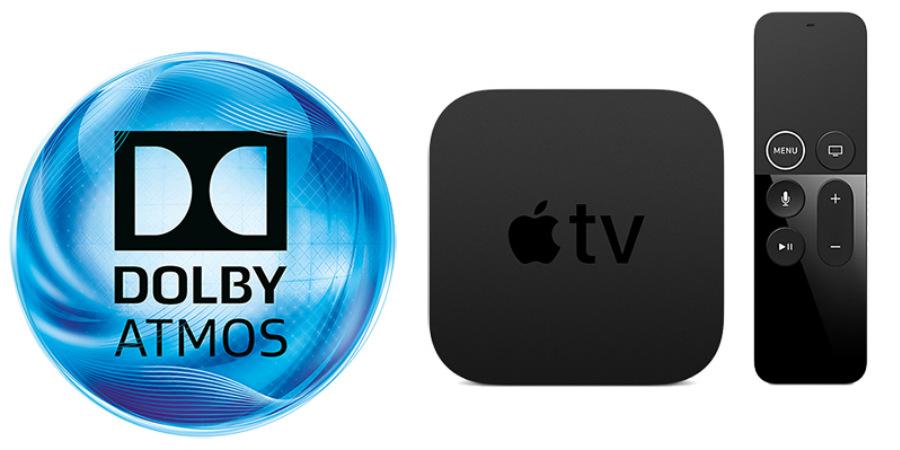 Apple TV 4K имеет возможность воспроизведения звука Dolby Atmos