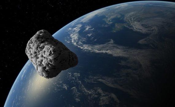 Астероид — это небольшое каменное тело, вращающееся вокруг Солнца
