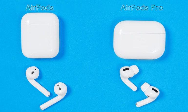 Разница между AirPods и AirPods Pro