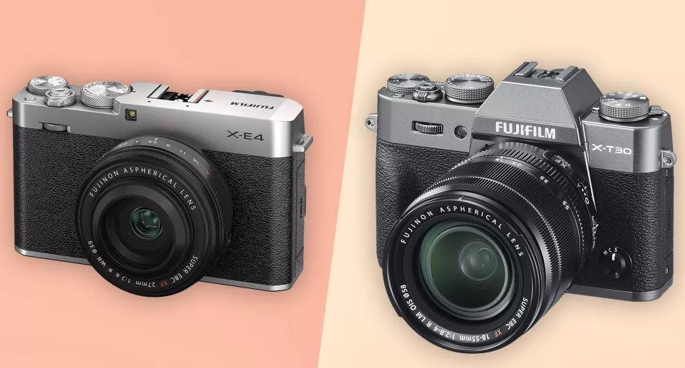 Fujifilm X-E4 и Fujifilm X-T30