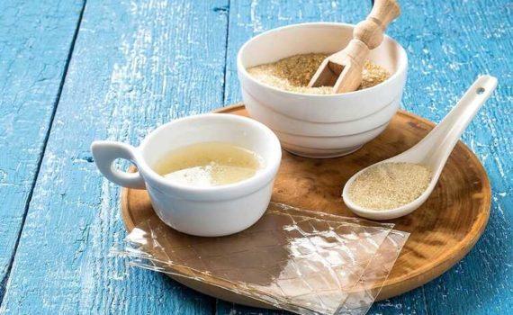 Говяжий желатин - это отличный источник белка, содержит ценные аминокислоты и низкое содержание калорий, сахара, жиров и углеводов