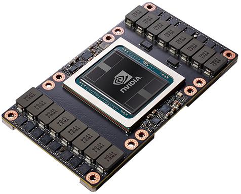 Графический процессор Nvidia Tesla V100 (архитектура Volta)