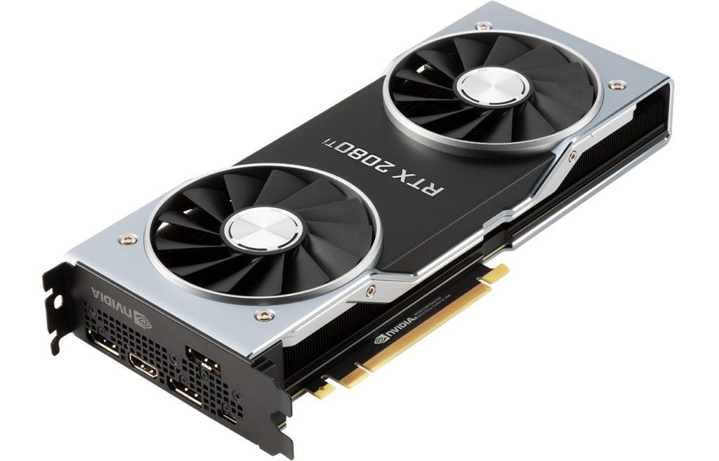 Игровая видеокарта GeForce RTX 2080 Ti от NVIDIA