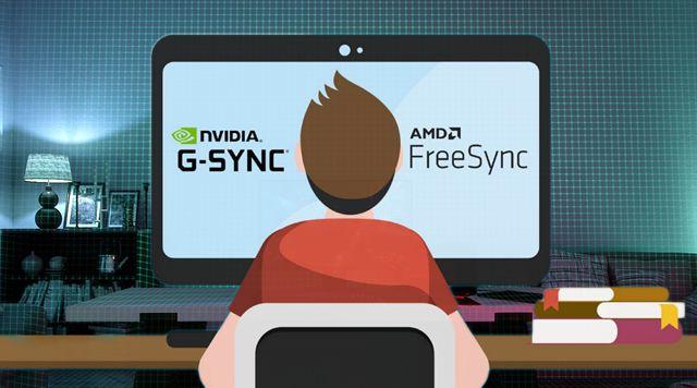 Современные мониторы с высокой частотой обновления имеют технологию AMD FreeSyncилиNvidia G-Sync