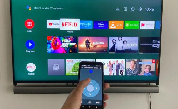 Управление смартфоном телевизона на Android TV