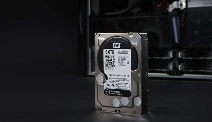 Жесткий диск Western Digital 6 ТБ