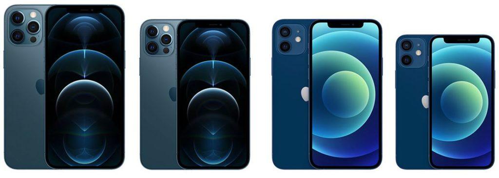 iPhone 12 Pro Max, iPhone 12 Pro, IPhone 12 и iPhone 12 mini