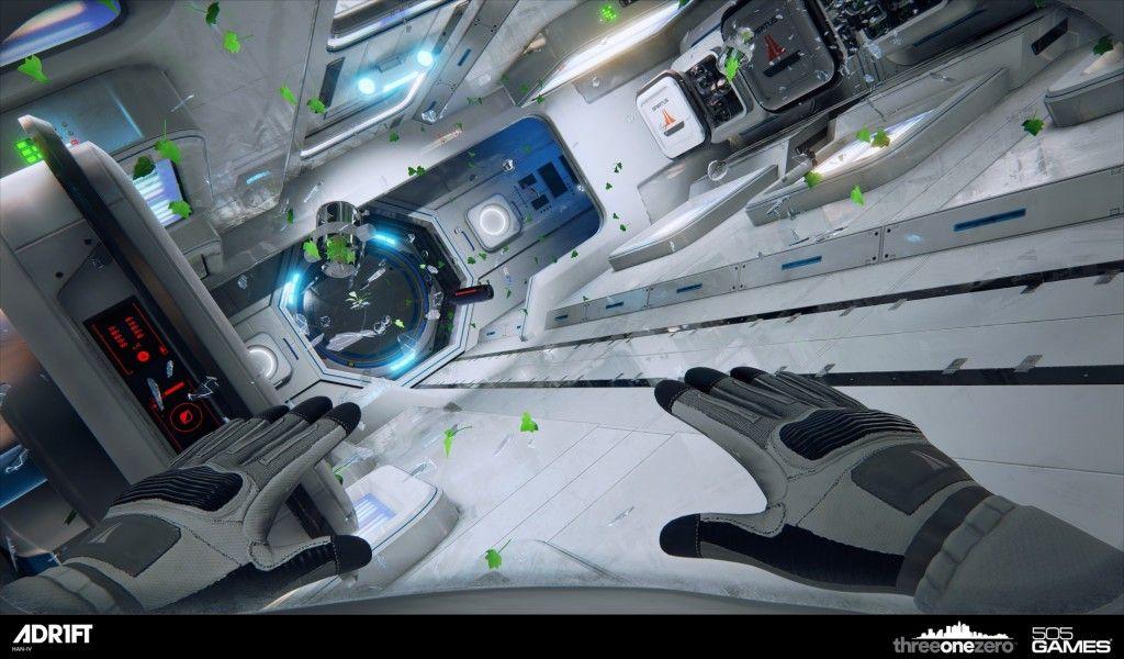 Adr1ft — одна из игр стартовой линейки Oculus Rift