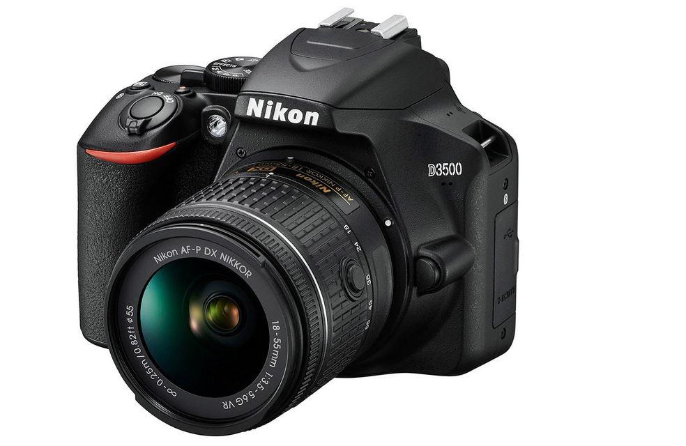 Зеркальный фотоаппарат Nikon D3500 имеет 11 больших датчиков определения фазы