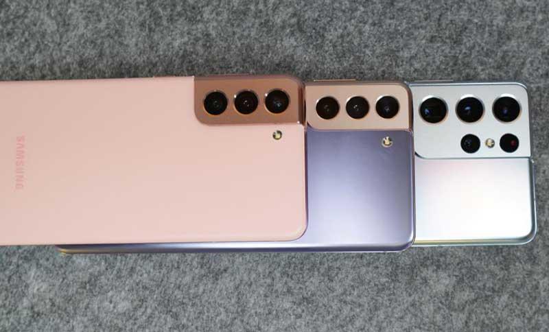 Galaxy S21, Galaxy S21 Plus и Galaxy S21 Ultra