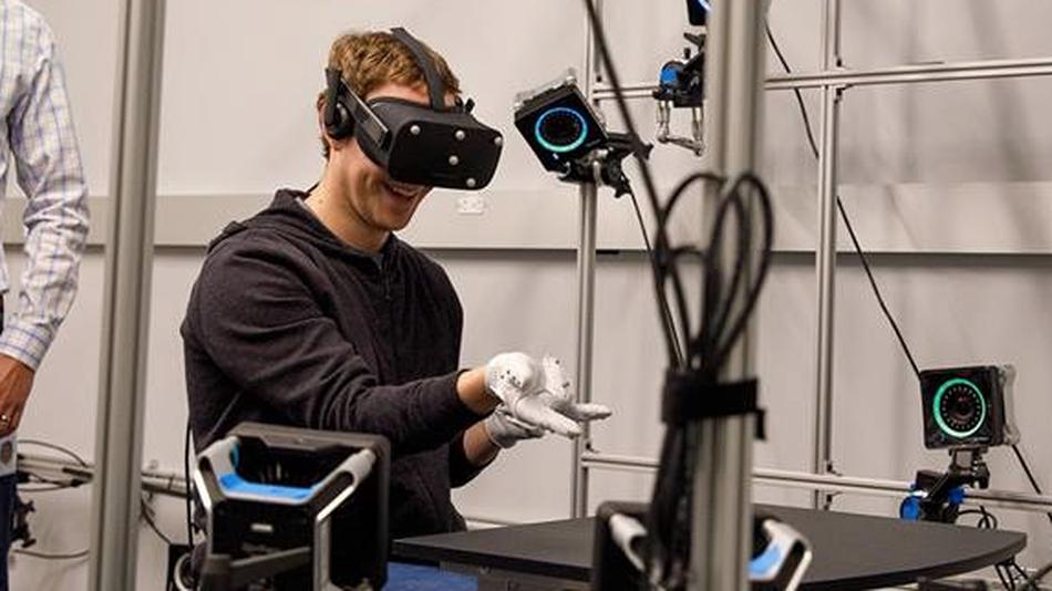 Марк Цукерберг в Oculus VR